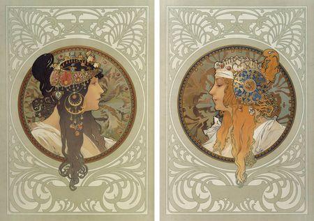 6 головы византиек 1897